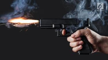 Ilustrasi penembakan.