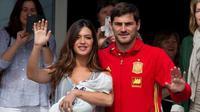 Sara Carbonero dan Iker Casillas dihadiahi putra kedua yang diberi nama Lucas (Pulse)