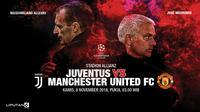 Juventus vs Manchester United (Liputan6.com/Abdillah)