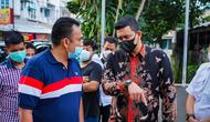 Pembongkaran dilakukan usai suami Kahiyang Ayu tersebut meninjau langsung ke lokasi, Sabtu (12/6/2021)