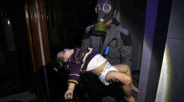 Serangan Senjata Kimia Suriah