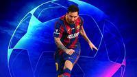 Liga Champions - Aksi Lionel Messi (Bola.com/Adreanus Titus)