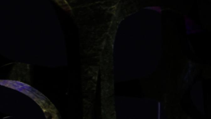 Penampakan bulan purnama di tengah air mancur yang menghiasi lanagit kawasan Jakarta, Jumat (13/9/2019). Bulan purnama Harvest Moon yang terjadi malam ini merupakan hal yang langka karena merupakan yang pertama sejak 13 Januari 2006. (Liputan6.com/Johan Tallo)
