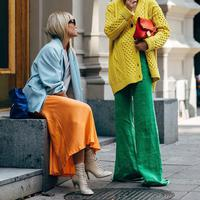 Fashionista at Stockholm Fashion Week - Photo: stylestalker