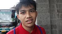 Gelandang Timnas Indonesia U-23 Witan Sulaeman. (Liputan6.com/Dewi Divianta)