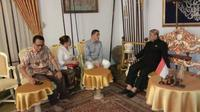 Keraton Kasepuhan Cirebon bekerjasama dengan World Economic Summit dalam bidang pariwisata. Foto (Liputan6.com / Panji Prayitno)