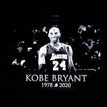 Kobe Byant tewas dalam kecelakaan helikopter, Minggu (26/1) atau Senin dinihari WIB. (AP Photo/Reinhold Matay)