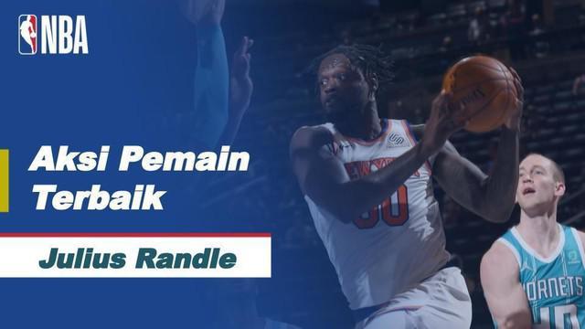 Berita video aksi-aksi dari bintang New York Knicks, Julius Randle, yang mencetak triple-double di NBA hari ini, Minggu (16/5/2021) WIB.