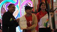 Selain memperlihatkan cara membuat video kreatif diakun Instagramnyam Raditya Dika juga menjadi juri lomba Video Pesona Asian Games 2018.