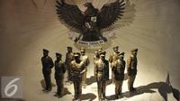 Diorama pahlawan revolusi di Museum Arsip Nasional Republik Indonesia, Jakarta, Rabu (22/7/2015). Museum tersebut menyimpan ribuan arsip dari era tahun 1600 tentang sejarah negara Indonesia. (Liputan6.com/Herman Zakharia)
