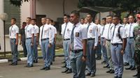 Pembina Menunjuk Calon Paskibraka 2018 dari Provinsi Sumatera Utara, Lucas Alexaindre Siburian, Menjadi Pemimpin Upacara Tantingan yang Dilaksanakan di Halaman Wisma Soegondo Djojopoespito (PP-PON) Cibubur, Jakarta Timur.