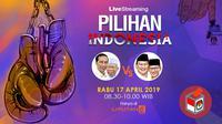 Live streaming Pemilu 2019.(Liputan6.com/Abdillah)