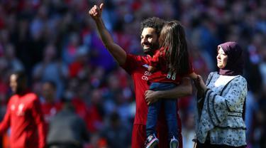 Tangis Mohamed Salah Gagal Bawa Liverpool Juara Liga Inggris