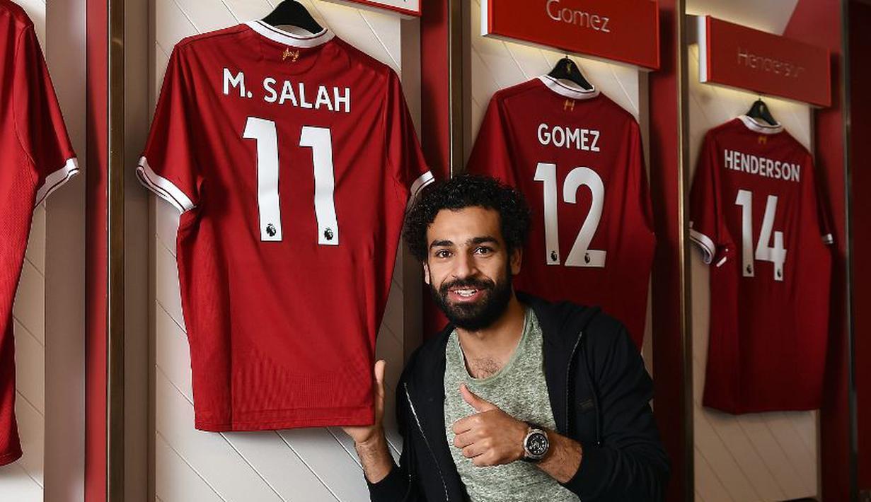 FOTO Mohamed Salah Dan 7 Pemain Asing Liverpool Pengguna