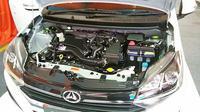 New Daihatsu Ayla kini menawarkan pilihan mesin 1.0 liter dan 1.2 liter. (Arief/Liputan6.com)