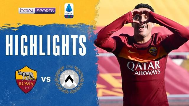 Berita video gol-gol yang tercipta dalam highlights laga pekan ke-22 Liga Italia 2020/2021, antara AS Roma melawan Udinese yang digelar pada Minggu (14/2/2021) malam hari WIB.