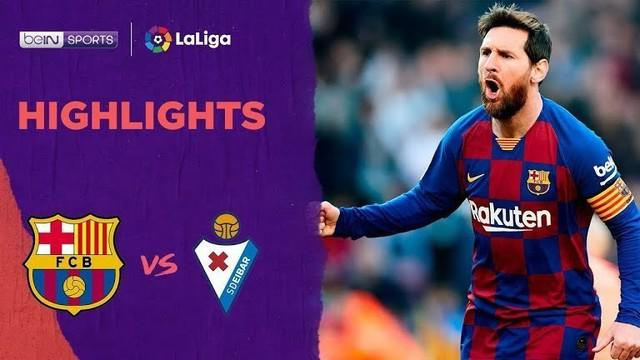 Beriita Video Highlights La Liga, Barcelona vs Eibar 5-0