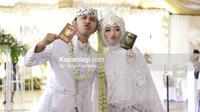 Pernikahan Ega Noviantika dan Rafly DA (Sumber: Kapanlagi)