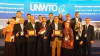 Video pariwisata Indonesia menjadi juara umum dalam kompetisi video pariwisata dunia yang digelar UNWTO, lembaga PBB untuk pariwisata. Foto: Kementerian Pariwisata.
