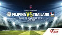 Prediksi FILIPINA VS THAILAND (Liputan6.com/Trie yas)