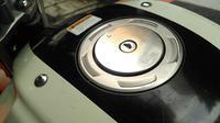 Tutup tangki motor Yamaha Byson (Rio Apinino/Liputan6).