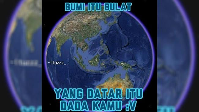 Meme Bumi Datar