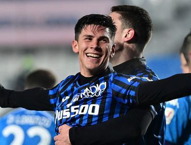 FOTO: Brace Matteo Pessina Bawa Atalanta Tekuk Napoli 3-1 dan Lolos ke Final