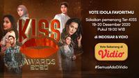 KISS Awards 2020. (Sumber : Dok. vidio.com)