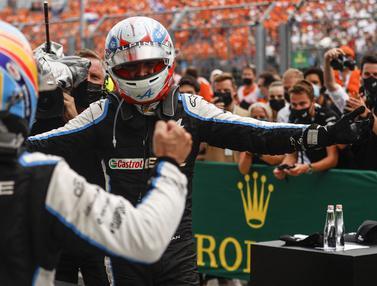 Foto: Hungaria Hadirkan Drama, Esteban Ocon Jadi Juara, Hamilton Rebut Posisi Pertama Klasemen Formula 1