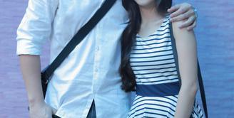 Rencana pernikahan yang akan menjadikan pasangan Samuel Zylgwyn dan Franda sebagai raja dan ratu semalam memang kian santer dikabarkan berlangsung dalam waktu dekat. (Adrian Putra/Bintang.com)