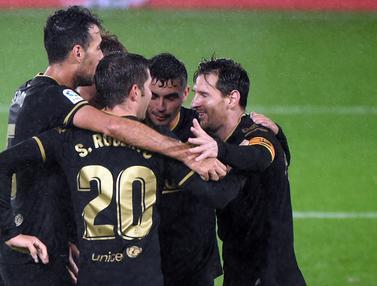 Foto Liga Spanyol: Ansu Fati Kembali Cetak Gol, Barcelona Hajar Celta Vigo 3-0