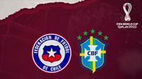 Kualifikasi Piala Dunia - Cile Vs Brasil (Bola.com/Adreanus Titus)