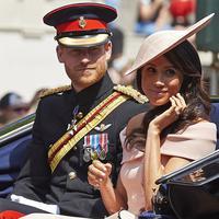 Meghan Markle dan Pangeran Harry akan pergi ke Australia pada bulan oktober dalam peluncuran Invictus Games. (Niklas HALLEN / AFP)