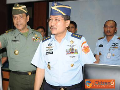 Citizen6, Jakarta: Latihan Hanudnas tersebut bertujuan untuk menguji rencana operasi untuk mengukur kesiapsiagaan operasional Kohanudnas dalam suatu pertahanan udara. (Pengirim: Badarudin Bakri).