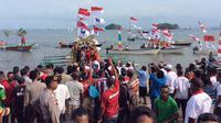 Pesta Demokrasi di Papua (Liputan6.com / Katharina Janur)