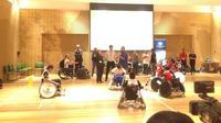 Dengan adanya paralimpik, atlet penyandang difabel fisik, mental, dan sensorik dapat mengikuti kompetisi olahraga (Liputan6.com/Nurul Basmalah).