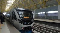 LRT Palembang Sumsel (Liputan6.com / Nefri Inge)