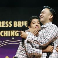 Betrand Peto dan Ruben Onsu (Bambang E Ros/Fimela.com)
