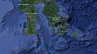 Peta Sulawesi Selatan. (Liputan6.com/ Google Maps)