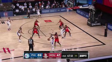 Berita Video Highlights NBA, Philadelphia 76ers Unggul Jauh Atas Houston Rockets 134-96