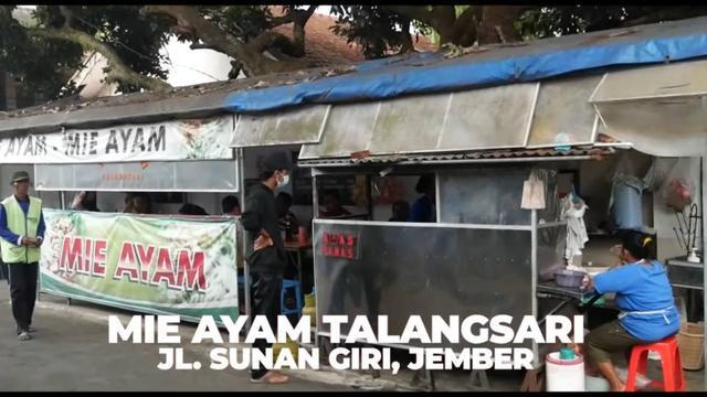 Mie Ayam Talangsari Bu Pon, Jember, Jatim