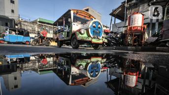 FOTO: Lebih Dekat dengan Odong-Odong Kampung Pulo