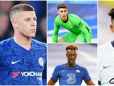 Chelsea dikabarkan ingin memboyong striker baru pada musim panas untuk mempertajam lini depannya. Mereka berencana ingin memulangkan Romelu Lukaku. Berikut lima pemain yang bisa dikorbankan The Blues demi mendatangkan bomber Timnas Belgia tersebut.