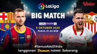 Big Match Barcelona vs Sevilla di Vidio. (Sumber: Vidio)