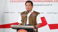 Di Graha BNPB, Jakarta, Minggu (5/4/2020), Ketua Tim Pakar Gugus Tugas Penanganan Percepatan Covid-19 Wiku Adisasmito menegaskan, hindari penggunaan bilik disinfektsi. (Dok Badan Nasional Penanggulangan Bencana/BNPB)