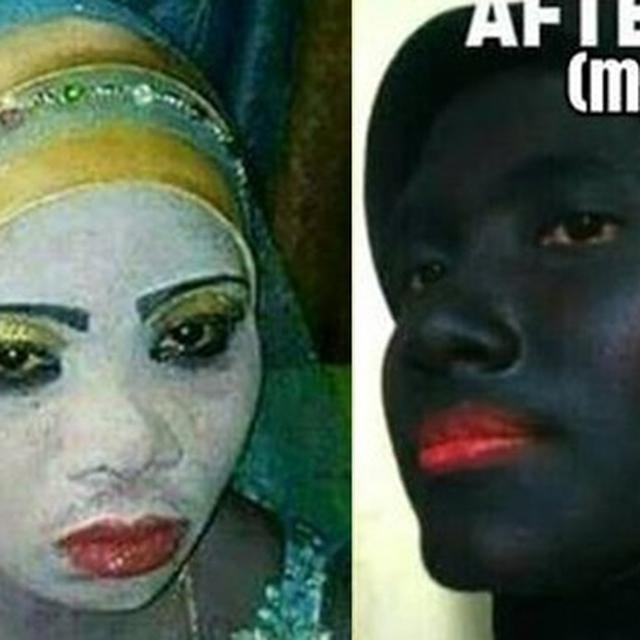 Antimainstream 6 Gaya Makeup Tebal Ini Bikin Orang Terkejut Hot Liputan6 Com