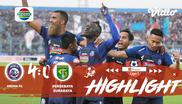 Laga lanjutan Shopee Liga 1, Arema FC VS Persebaya Surabaya berakhir Dengan 4-0 #shopeeliga1 #AremaFC #PersebayaSurabaya