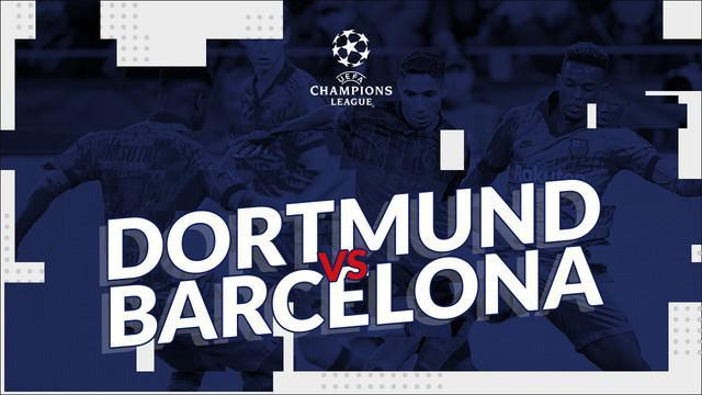 Berita video statistik Borussia Dortmund vs Barcelona pada matchday pertama Liga Champions 2019-2020, Rabu (18/9/2019) di Signal Iduna Park, Dortmund.