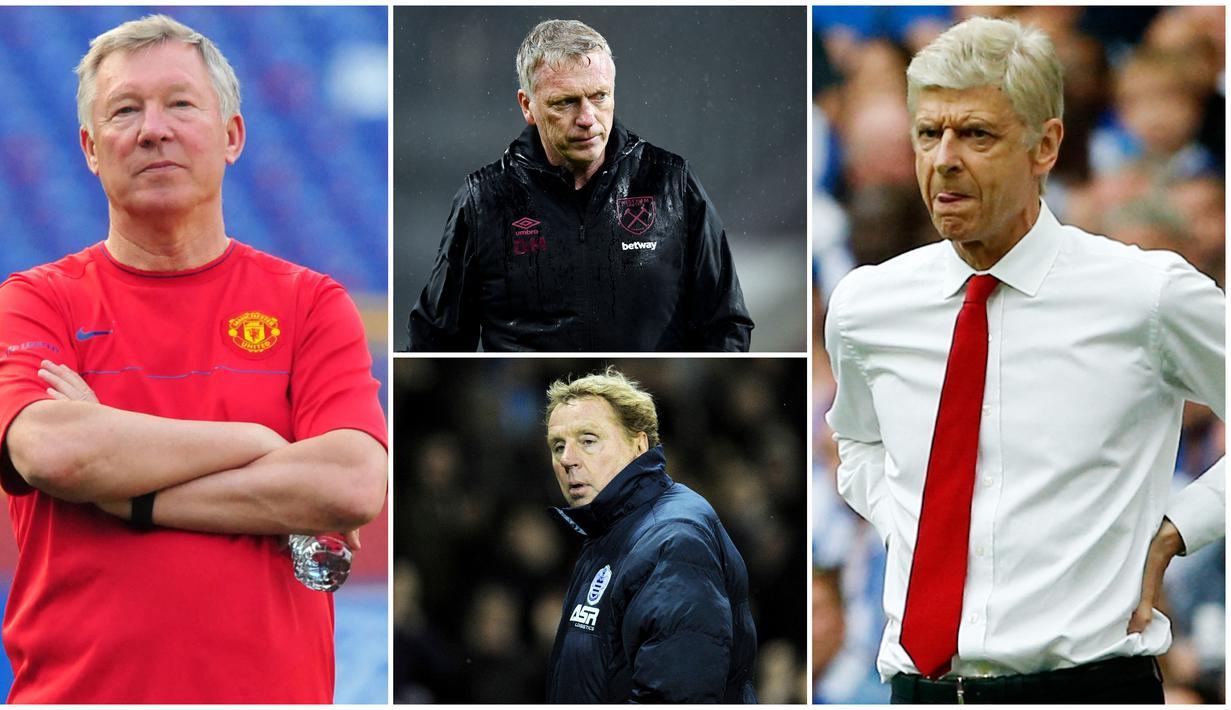Sir Alex Ferguson merupakan pelatih legendaris yang menukangi Manchester United sejak 1986 hingga tahun 2013. Di sepanjang kariernya Fergie telah bertanding dengan banyak pelatih. Berikut lima juru taktik yang paling sering dikalahkan pria asal Skotlandia ini.