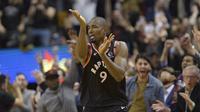 Serge Ibaka membantu Raptors mengalahkan Pacers di lanjutan NBA (AP)